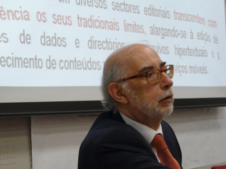 Jose Afonso Furtado en el Foro UNE. Foto: Rosa de Bustos