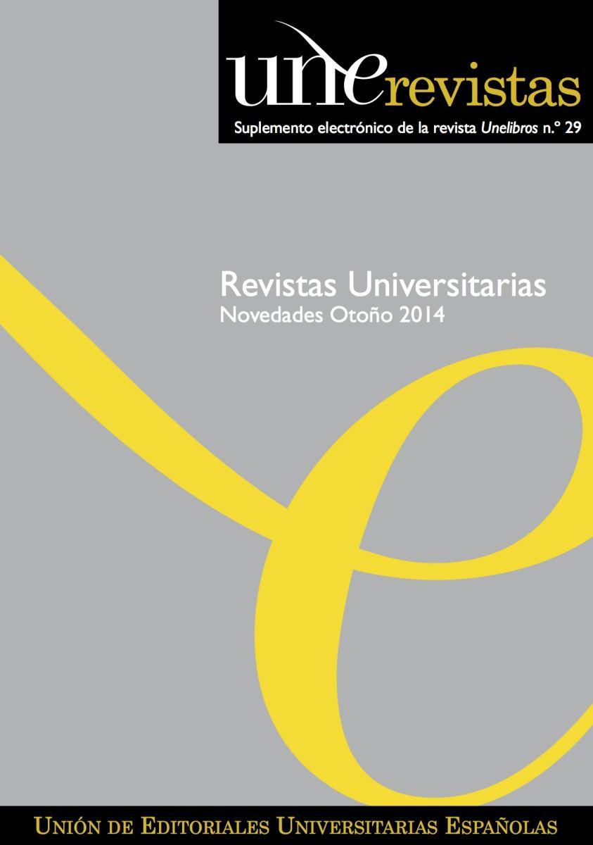 a40515af04929 UNE Revistas n.º 10 - Otoño 2014
