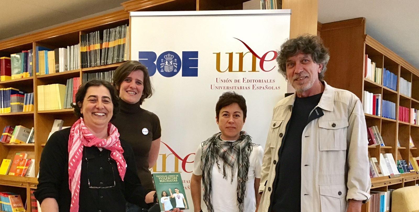 """Entrevista con Kika Fumero, Marian Moreno y Carmen Ruiz Repullo, autoras del libro """"Escuelas libres de violencias machistas"""", publicado por Edicions UIB"""