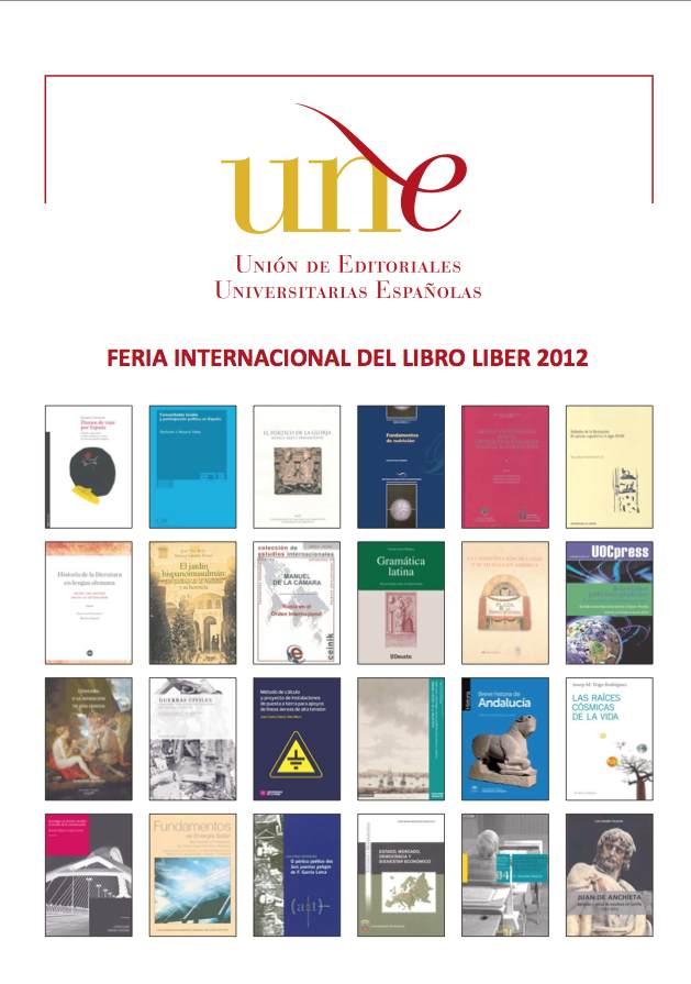 Portada catálogo Líber 2012