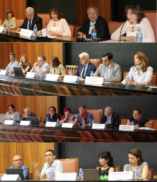 Imágenes de las VII Jornadas de libro electrónico, organizadas por la UNE y Editorial CSIC