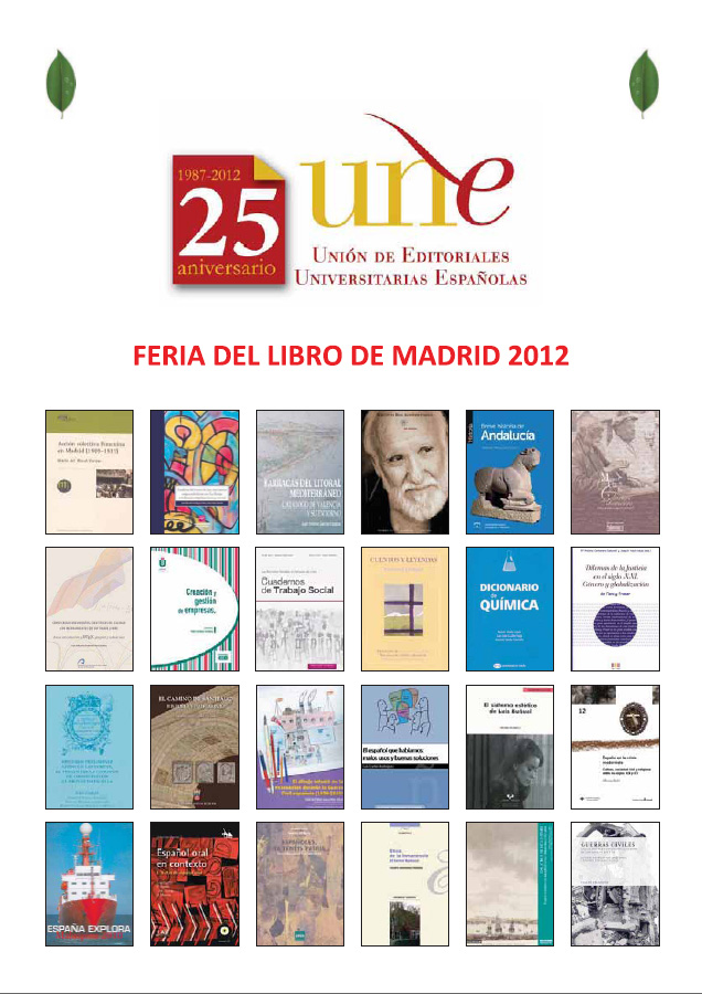 Catálogo UNE Feria de Madrid 2012