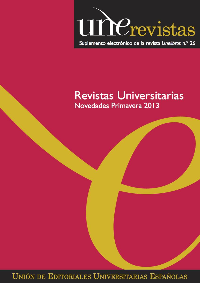 Unerevistas Primavera 2013