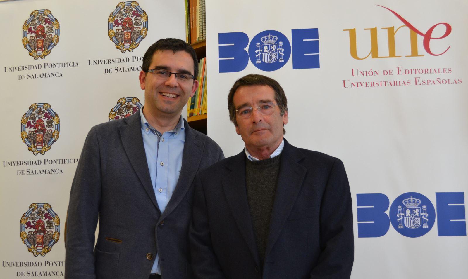 José Ramos (d) y Alberto Pedrero (i) / A.F.
