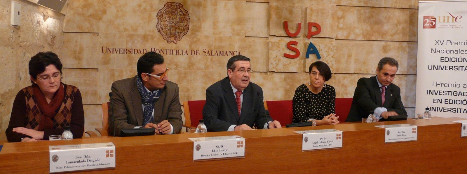 Rueda de Prensa UNE en UPSA