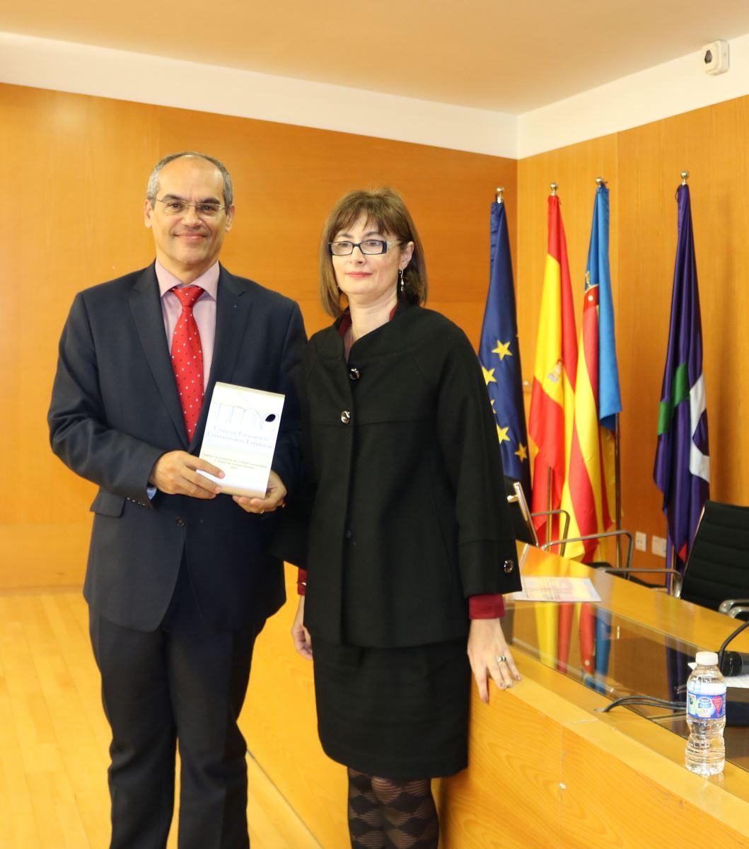 Rafael van Grieken y Ana Isabel González