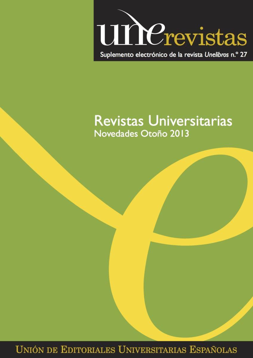 Unerevistas Otoño 2013