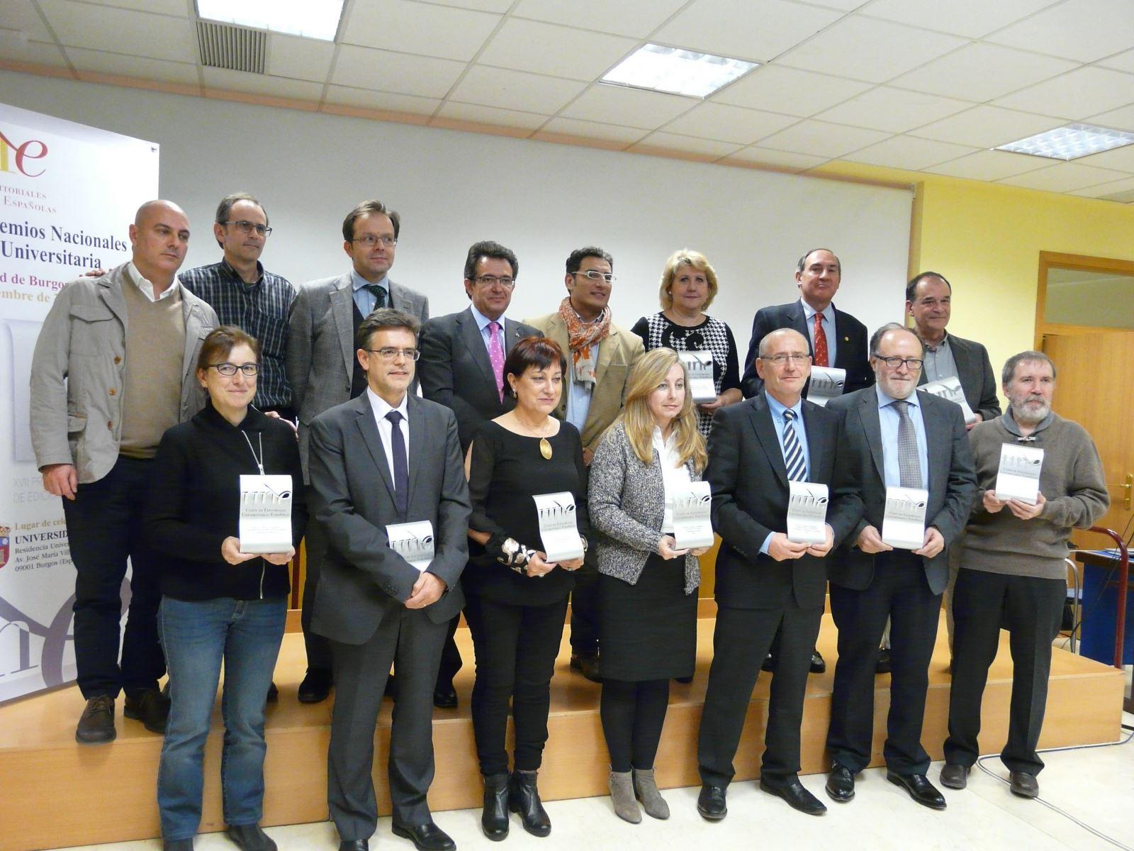 Premios Nacionales de Edición Universitaria 2014 / Rosa de Bustos