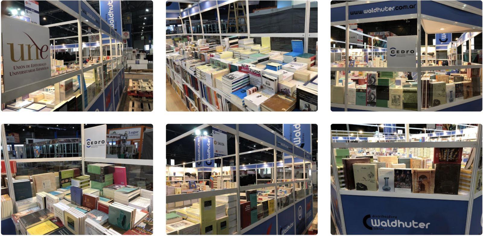 Imágenes del stand de la UNE en la Feria del Libro de Buenos Aires 2018