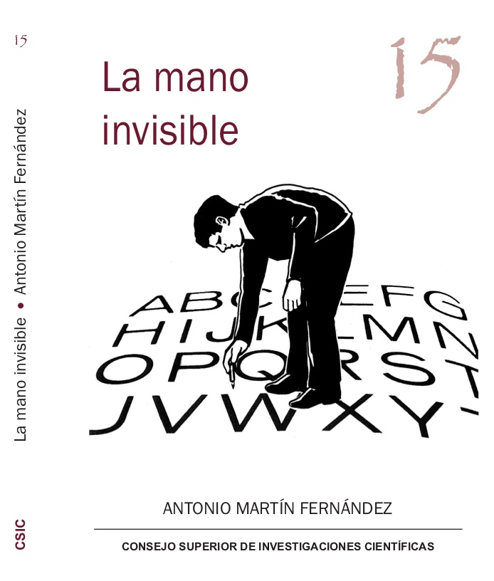 "Portada del libro ""La mano invisible"""