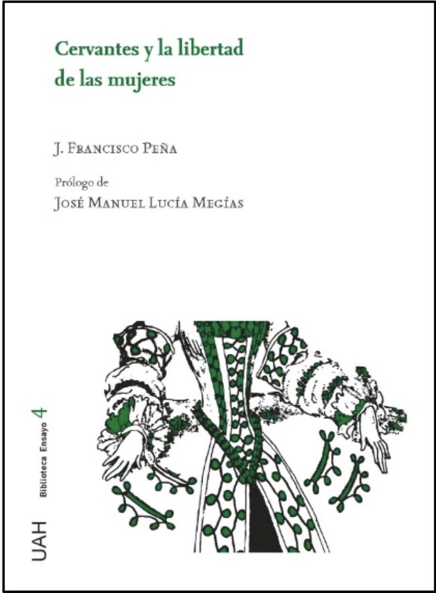 """Portada del libro """"Cervantes y la libertad de las mujeres"""""""
