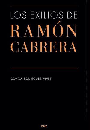 """Portada del libro """"Los exilios de Ramón Cabrera"""""""