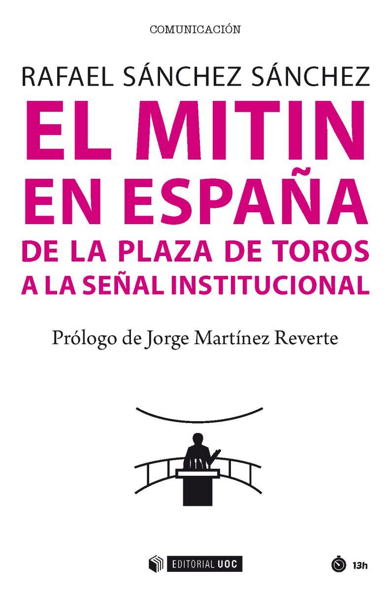 """Portada del libro """"El mitin en España"""""""
