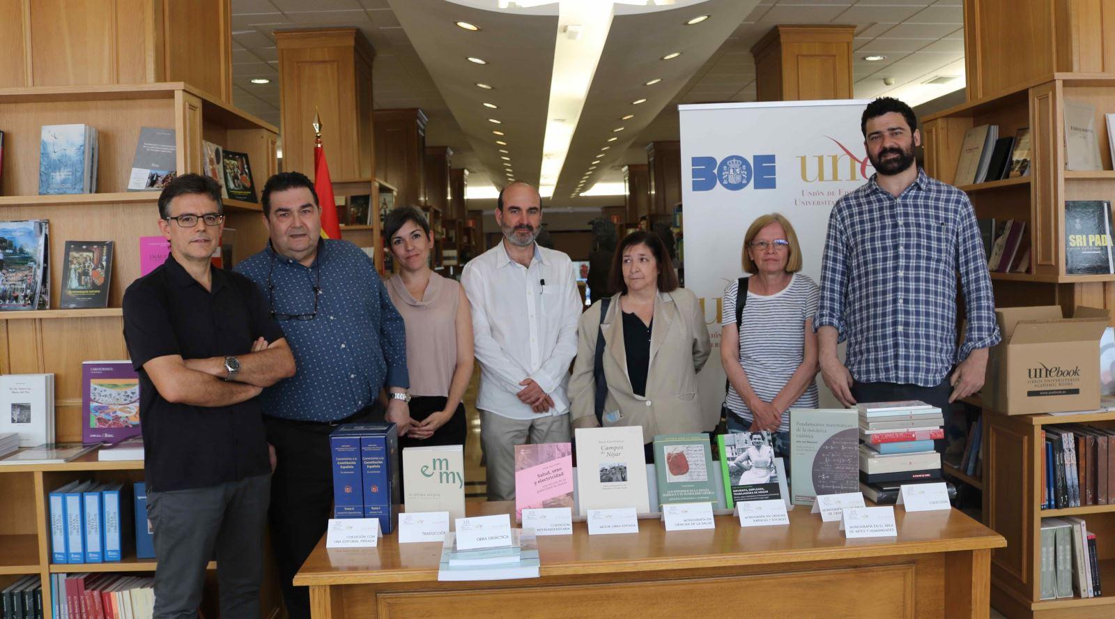 Jurado de los XXII Premios Nacionales de Edición Universitaria / Rosa de Bustos