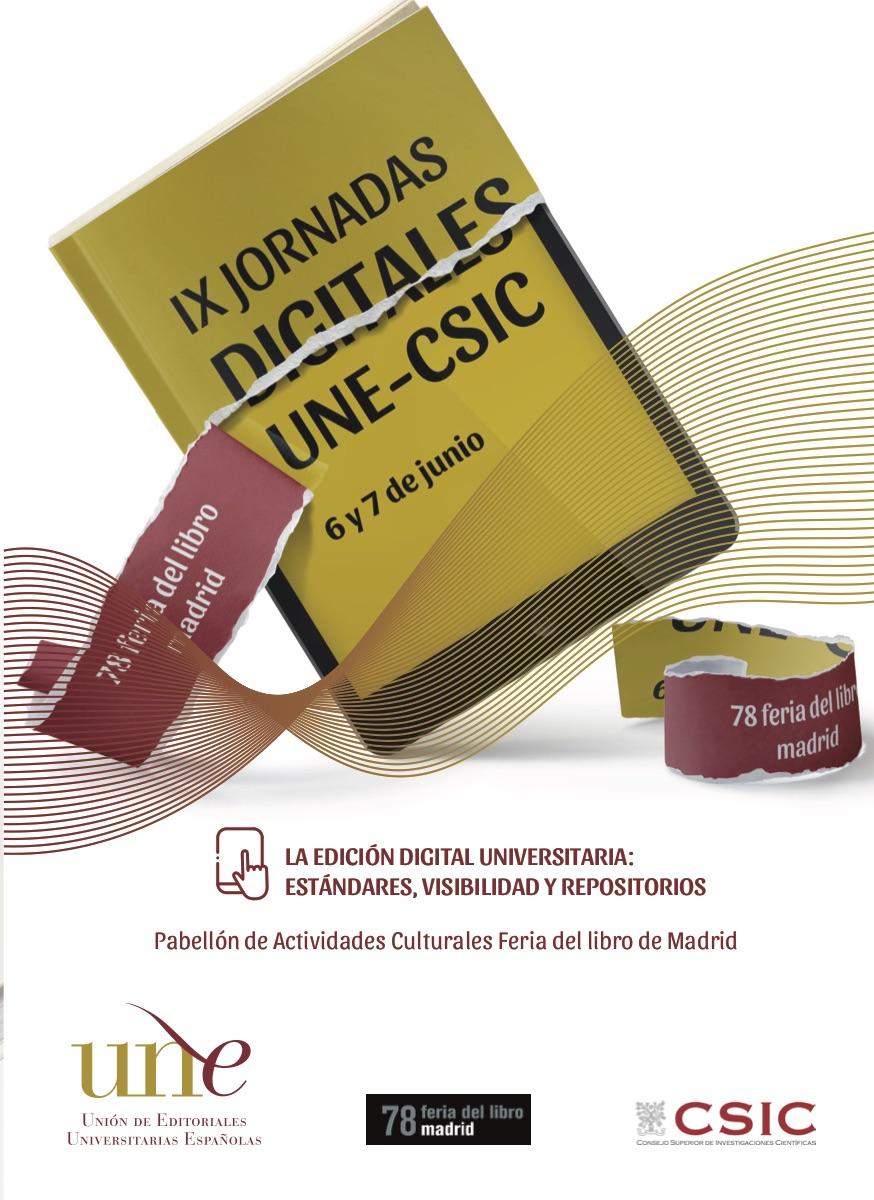 IX Jornadas Digitales UNE - CSIC