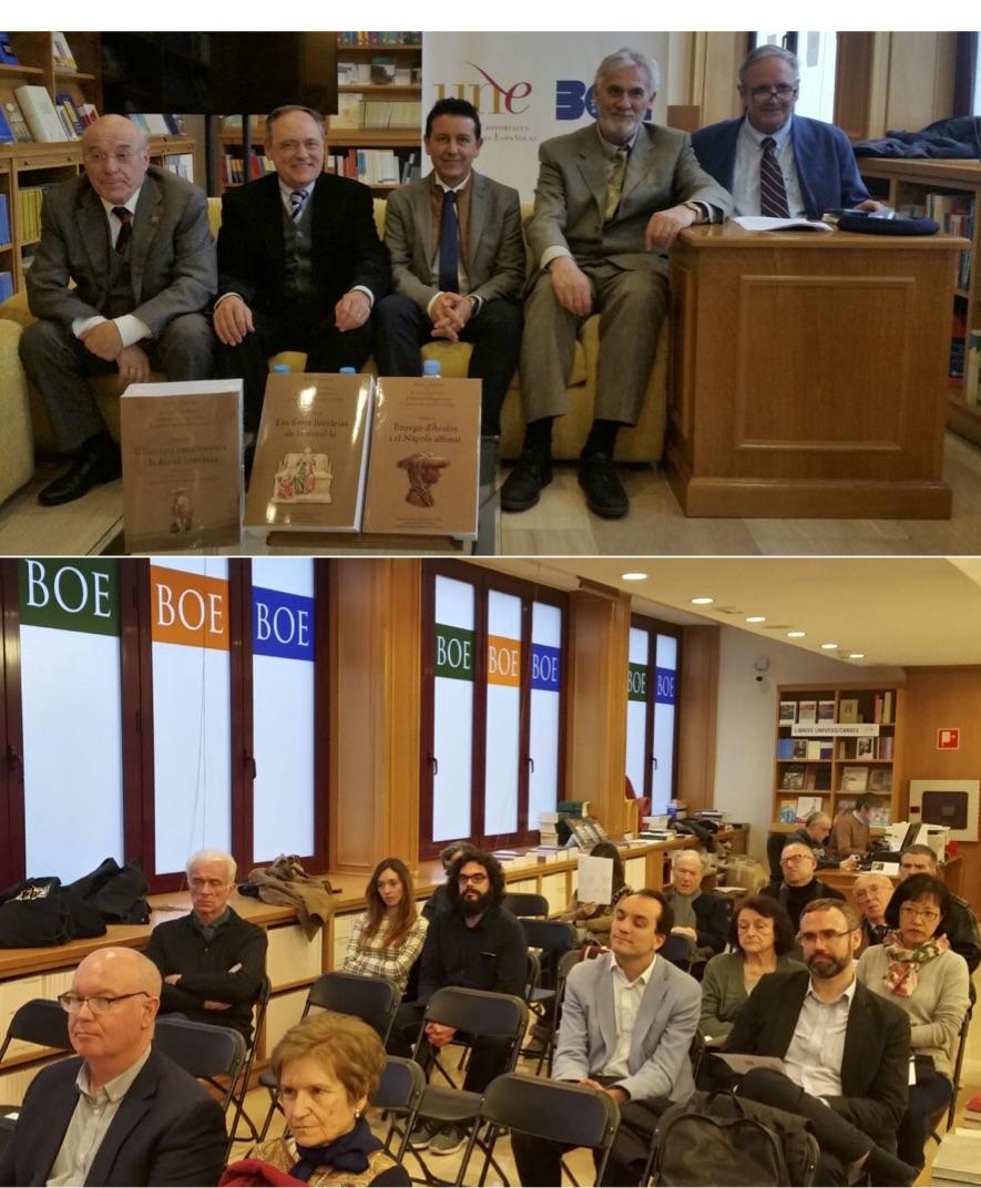 """Presentación de """"La cort napolitana d'Alfons el Magnànim: el context de 'Curial e Güelfa'"""""""