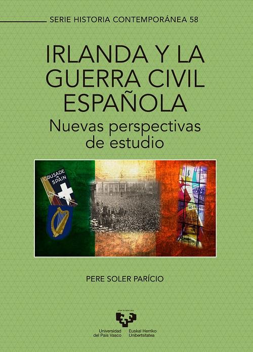 """Portada del libro """"Irlanda y la Guerra Civil española"""""""