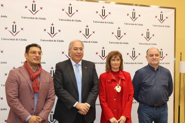 Lluís Pastor, Roberto Fernández, Ana Isabel González y Javier de Castro