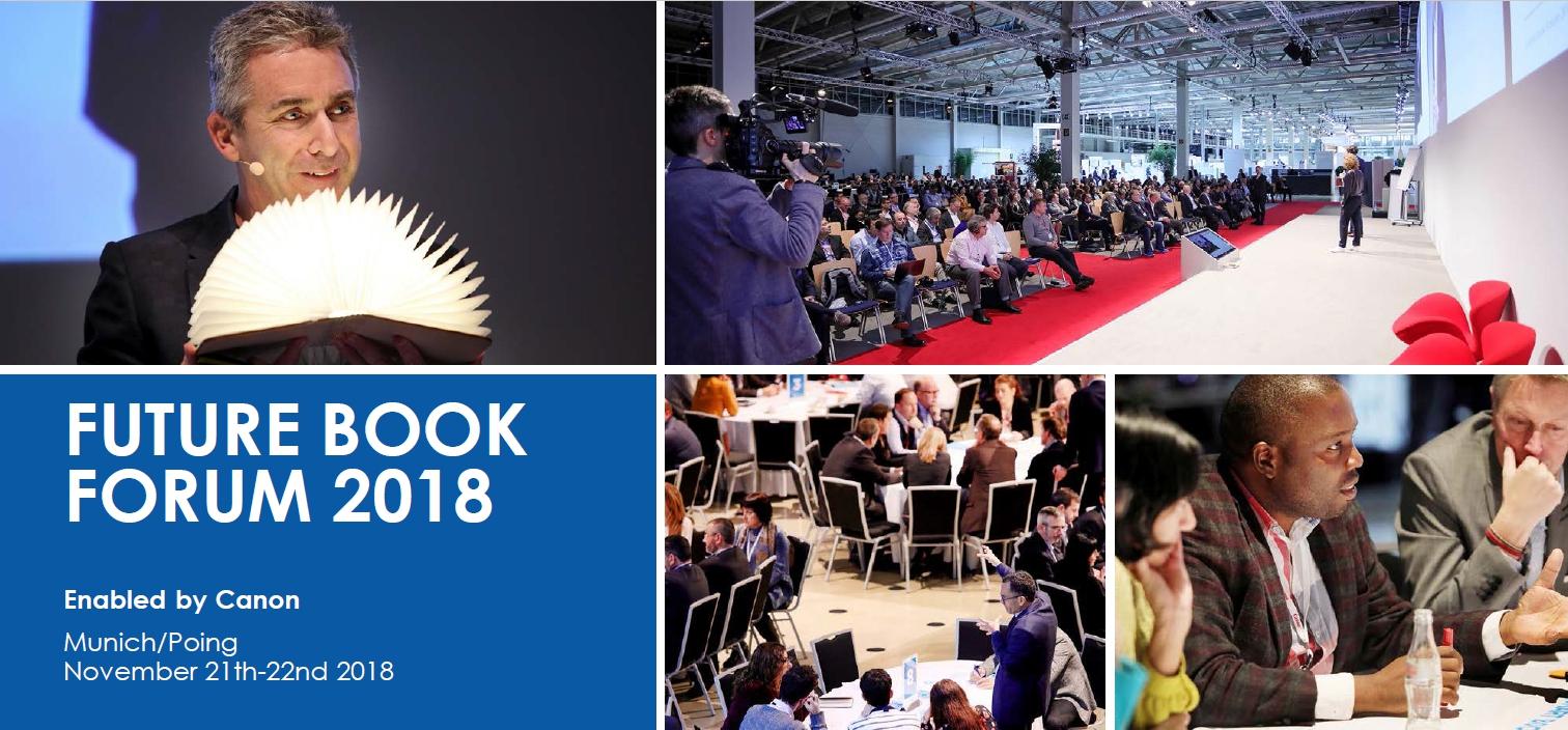 La UNE participa en Future Book Forum 2018