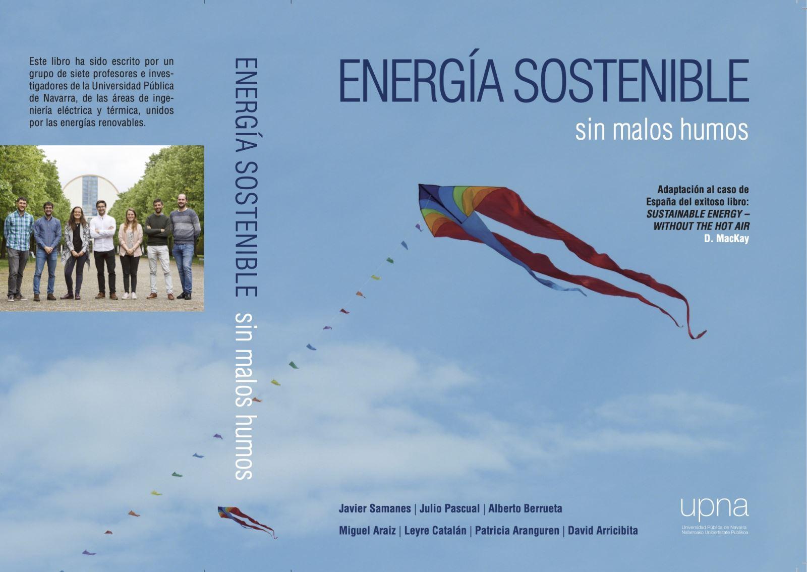 """Cubierta del libro """"Energía sostenible"""""""