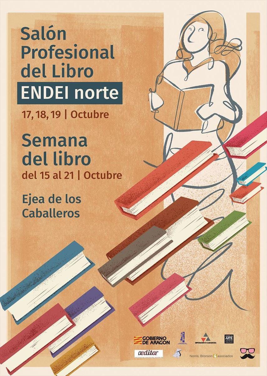 40 editoriales universitarias participan en el Salón Profesional del Libro de Ejea de los Caballeros