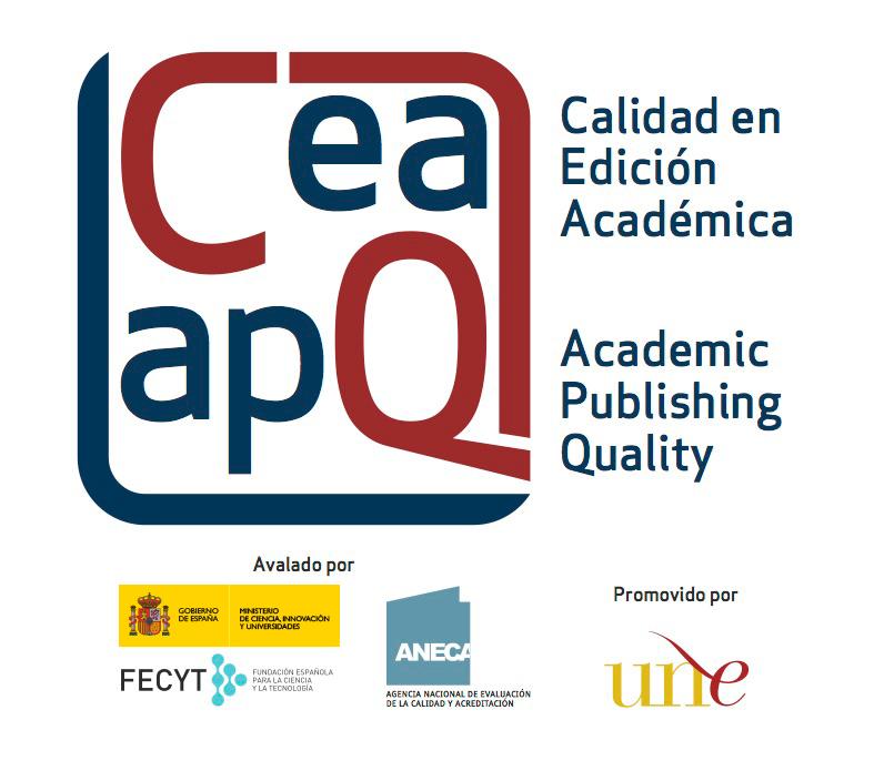 Logo sello de calidad en edición académica CEA-APQ