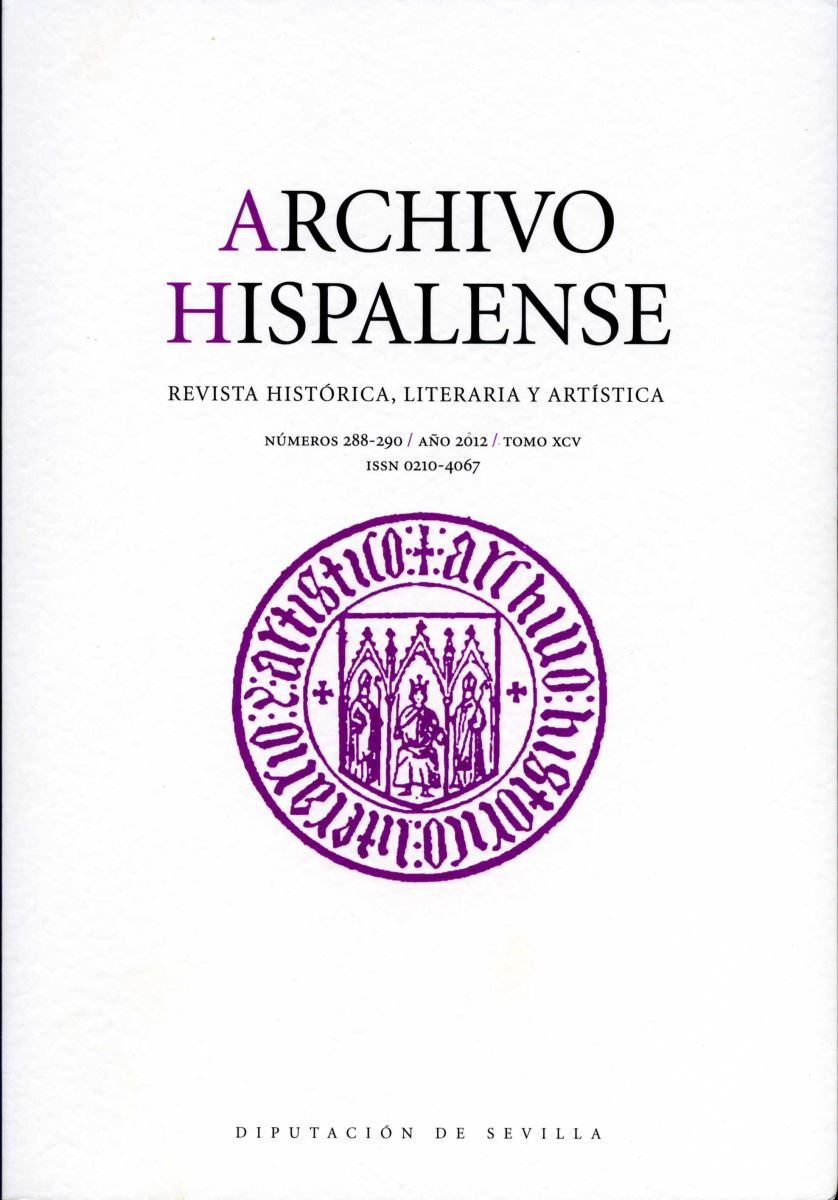 Revista Archivo Hispalense