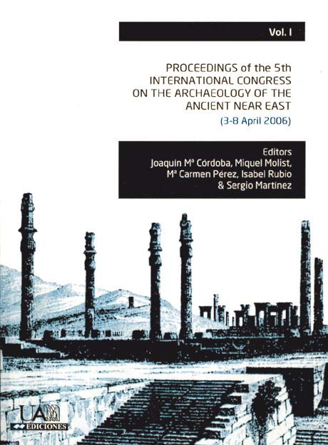 Proceedings of the 5th. International congress on the archaeology of the ancient near eas. Volumen I
