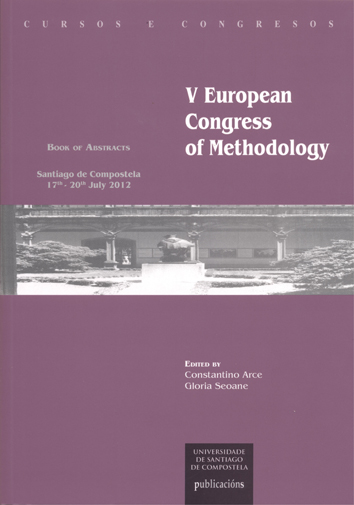 CC/216-V European Congress of Methodology